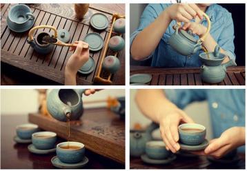 泡茶的步骤简化图|泡茶步骤图