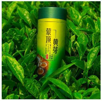蒙顶黄芽包装设计图|黄茶包装图片