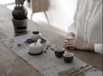 茶事:煎茶|煮茶意境图